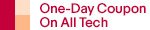 One-Day Coupon On All Tech