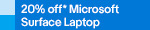 20% off Microsoft Surface Laptop