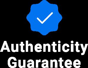 Authenticity guarantee logo