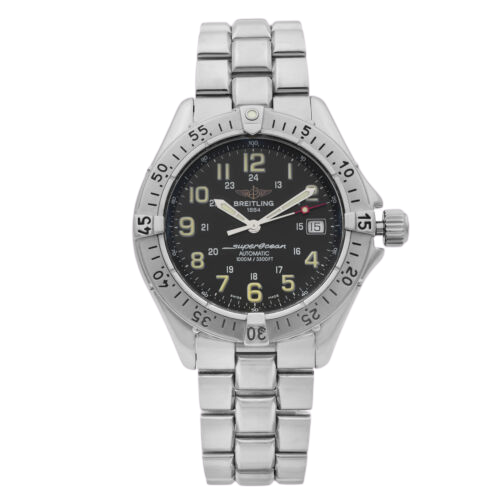 A Breitling automatic watch.