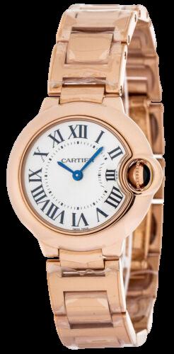 A cartier ballon bleu rose gold watches