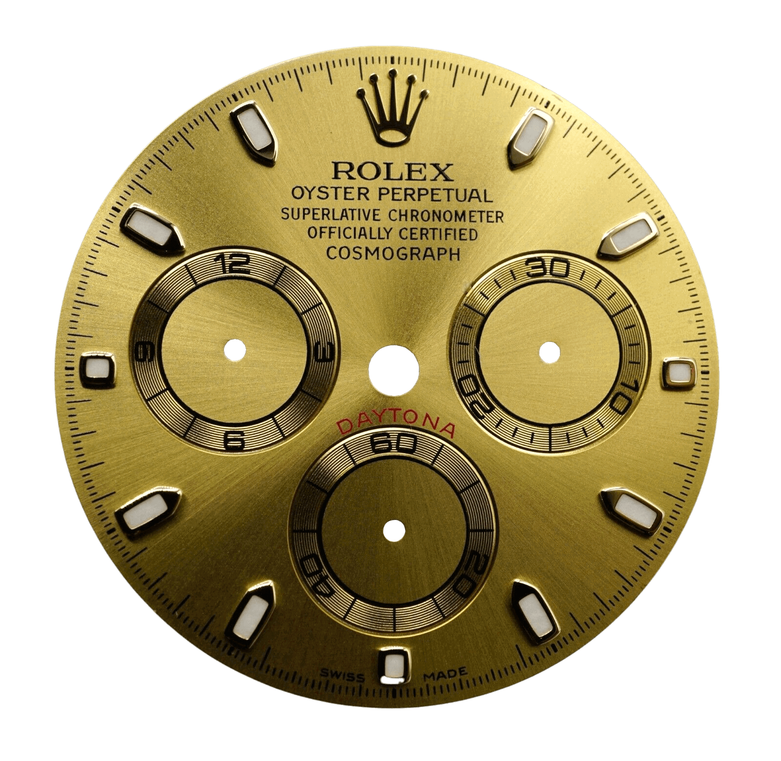 Gold dial Rolex watches