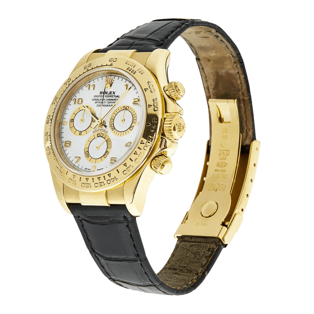 Silver Rolex Daytone Watches.