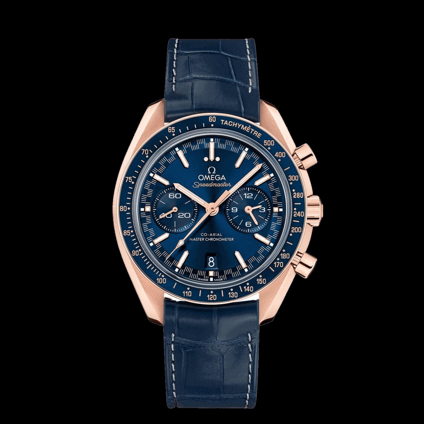 omega speedmaster rose gold watches
