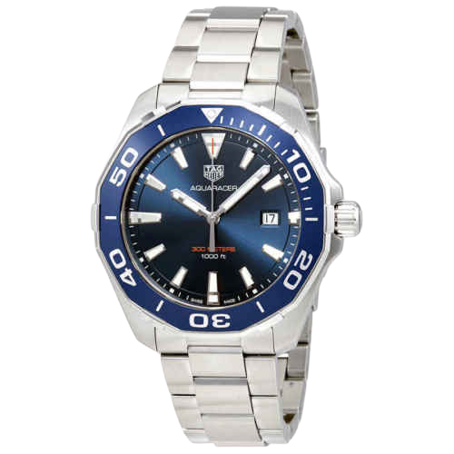 A Tag Heuer Aquaracer Chronograph.