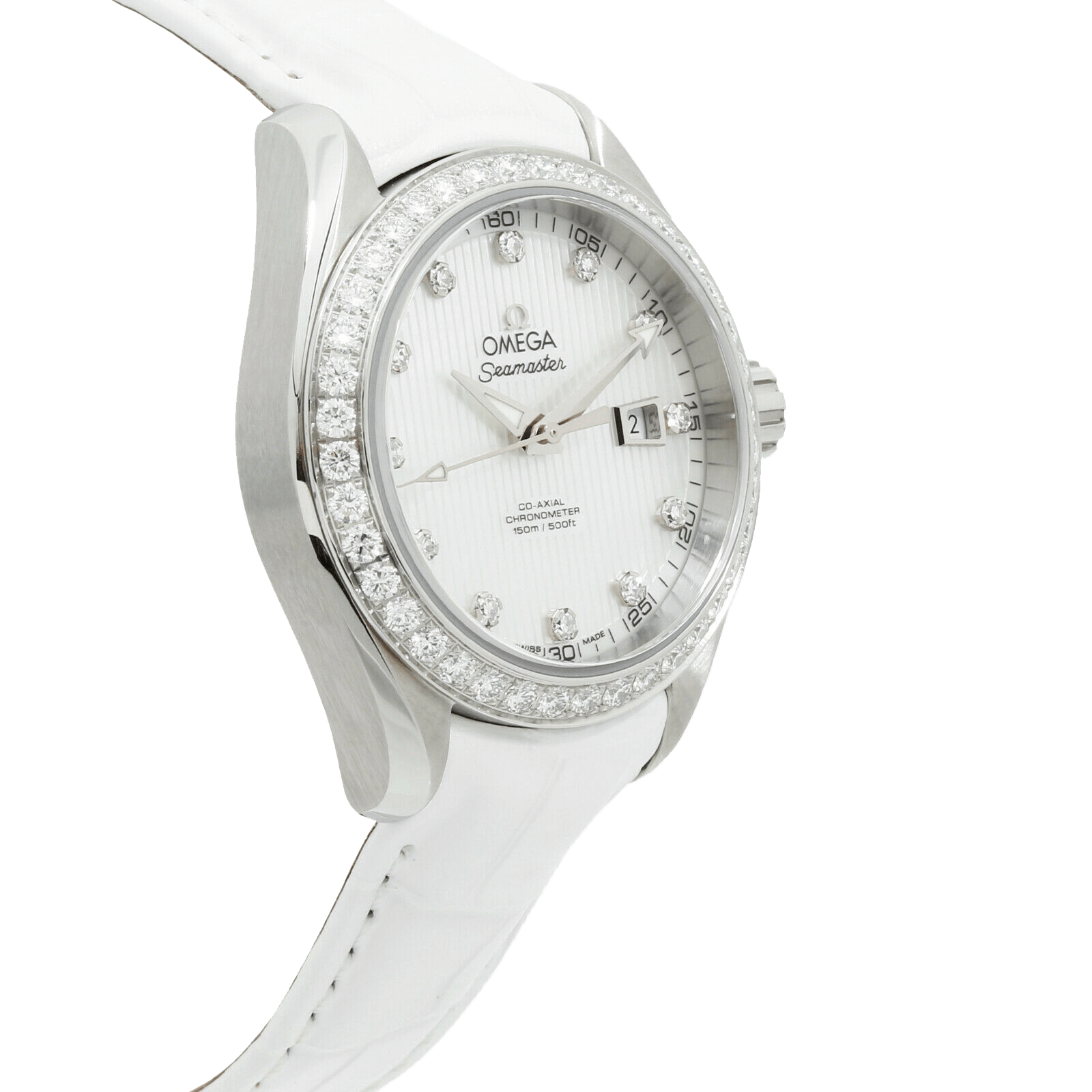 A sporty dress Aqua Terra Wearer watch