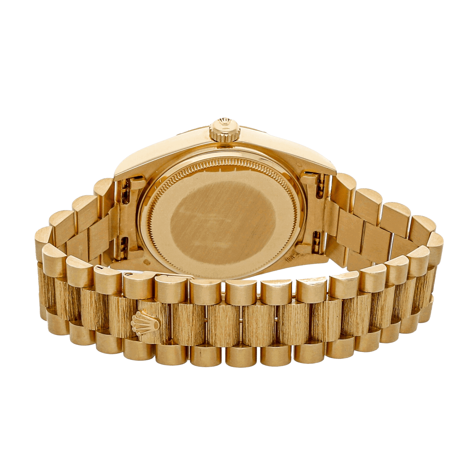Watch with Golden dail .