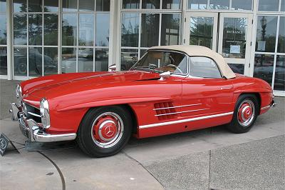 1960s mercedes sl