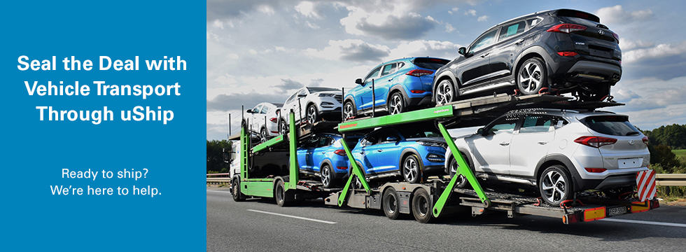 Seal the Deal with Vehicle Transport Through uShip. Ready to ship? We're here to help!