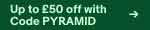 Up to £50 off with code PYRAMID