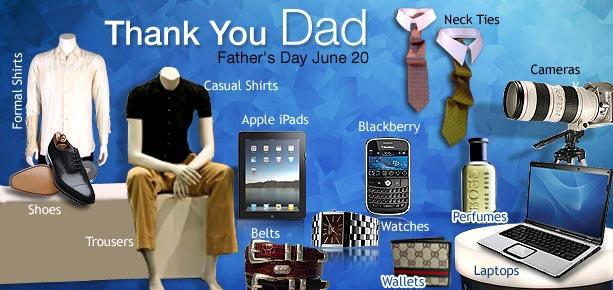 Shop Online this Father's Day - Interesting gift ideas from