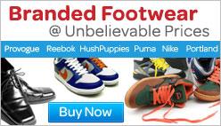 Branded Footwear @ Unbelievable Prices