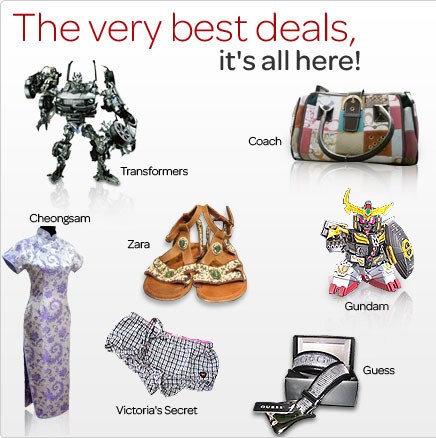 The Very best deals, it's all here!