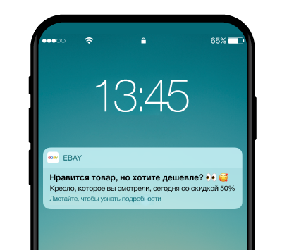 Mobile Price Notification Example