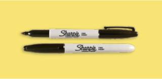 Two Sharpie brand pens