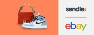 Sneaker shoe, handbug, sendle and eBay