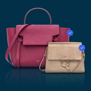 Cline Paris and Chloe handbags