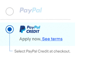 Pay For Your Item Using Paypal Credit Ebay Com