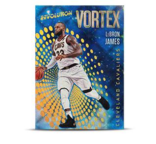 Revolution Vortex card Lebron James