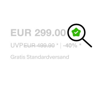 EUR 299.00, -40%, Gratis Standardversand