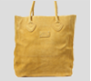 Suede Yellow Tote