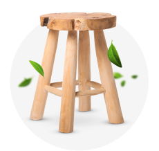 Mobilier en bois recyclé