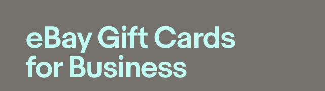eBay Gift Cards for Business