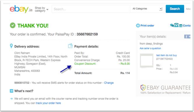 eBay Offers & Sale