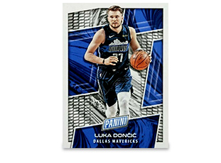 Basketball trading card of Luka Dončić