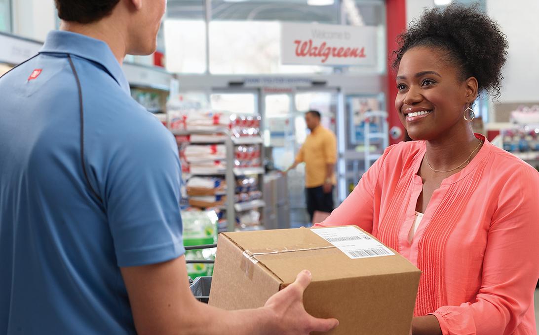 Walgreens as FedEx Drop Off