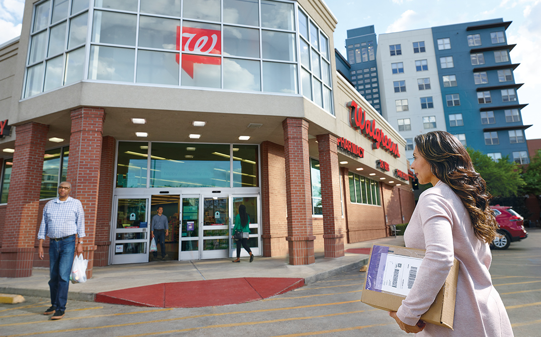 Walgreens as FedEx Drop Off
