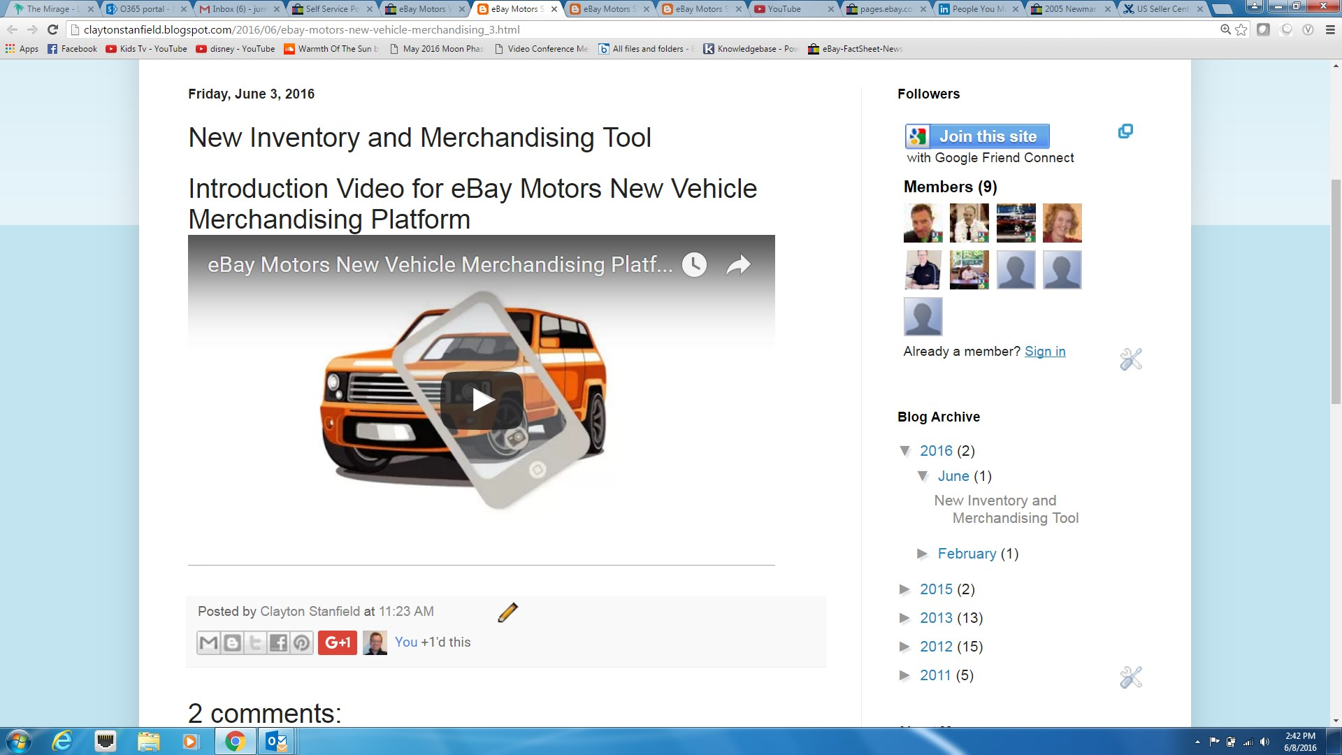 Vehicle Merchandising