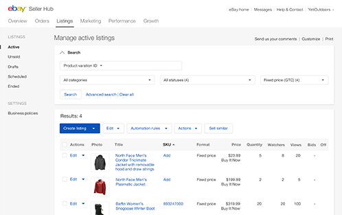 2015 Fall Seller Update Ebay Seller Center