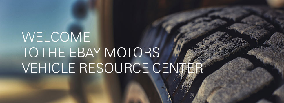 WELCOME TO THE EBAY MOTORS VEHICLE RESOURCE CENTER