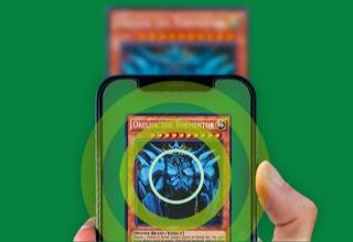 Mobile application scanning cards