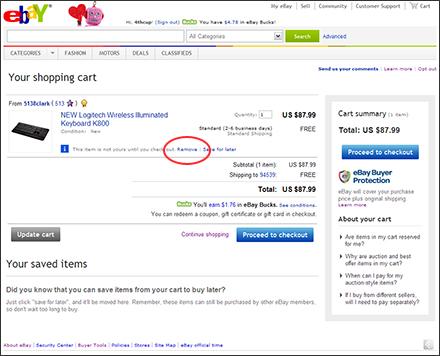 Ebay 2011 Spring Seller Update New Ebay Shopping Cart