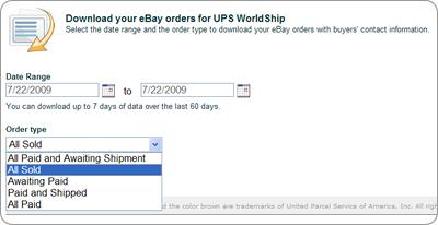 ebay ship by date