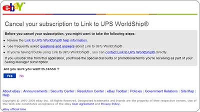Link to UPS Worldship Seller Guide