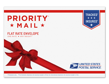 Priority Mail Flat Rate® Gift Card Envelope