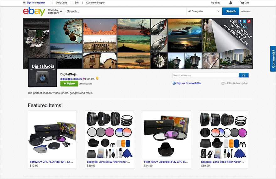 Ebay Shop Design | Ebay Stores Design Your Store