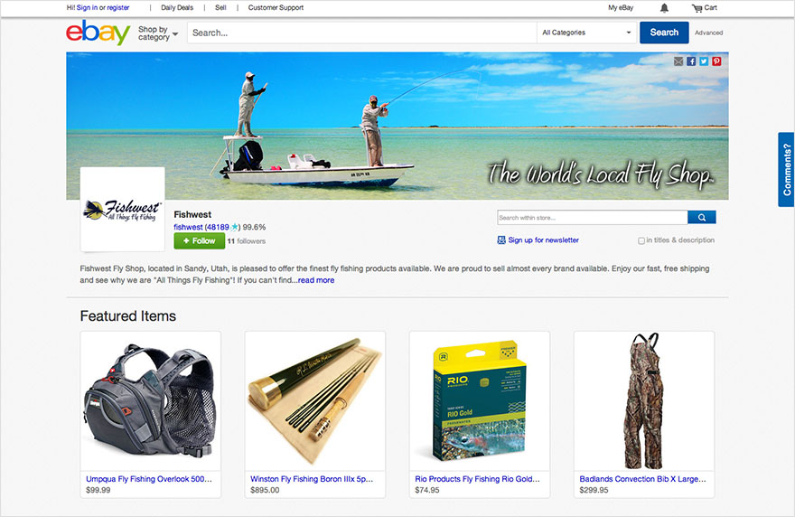 Ebay Stores Design Your Store
