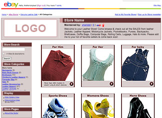EBay Stores Design Templates - Ebay store templates