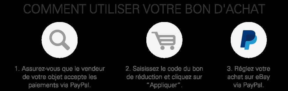 eBay France - Comment utiliser les bons d achat sur eBay.fr cfd286aa34a