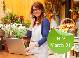 Ends March 31