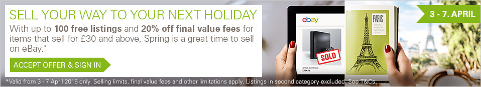 Sell your way to your next holiday