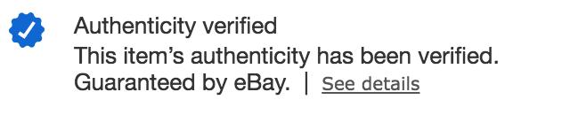 Authenticity Verified Logo