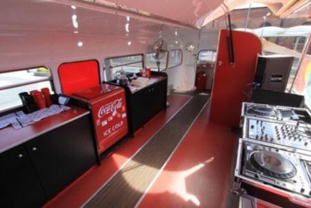 Image Gallery inside double decker bus tour