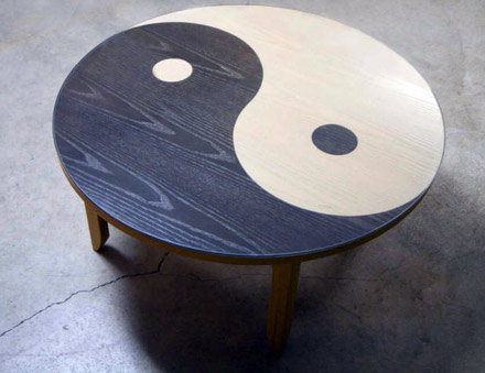 The yin yang table of fight club ebay stories for Table yin yang