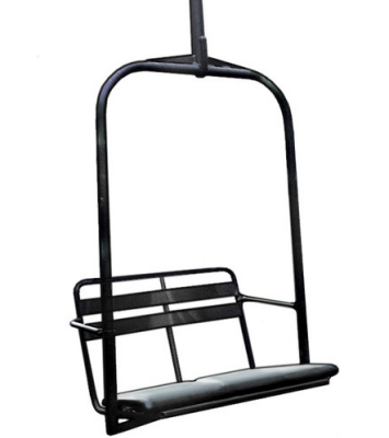 A Black Diamond Chair From The Kt 22 Chairlift Ebay Stories